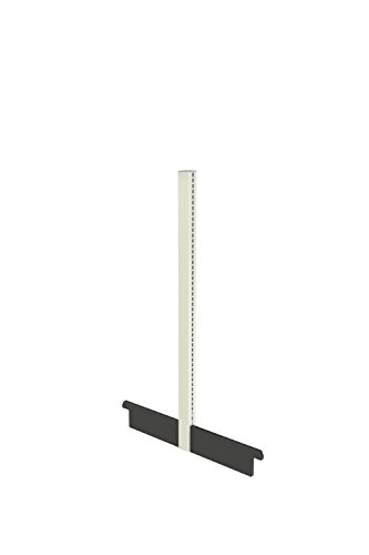 Madix Fixtures Gondola Starter Unit, 54'' High x 16'' Deep, Beige Finish (Sahara) by Madix