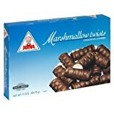 Joyva Marshmallow Twists Chocolate Covered Gluten Free 9 Oz. Pk Of 3. ()