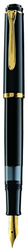 Pelikan M200 Fountain Pen Black Fine (993915)