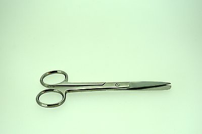 """4.5"""" Operating Scissors Sharp/Blunt Straight Surgical Instruments"""