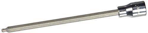 SK Hand Tool 45964 3/8-Inch Drive Hex Long Ball Bit Socket 4mm Chrome [並行輸入品] B078XKWXF4