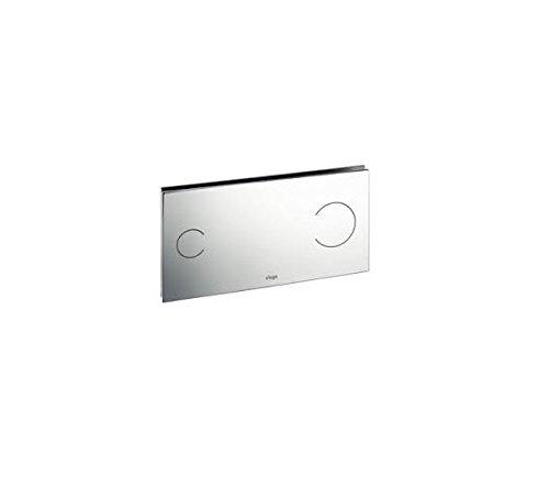 Viega 83521 Flush Plate Visign for More 100 Actuator, Chrome Colored Aluminum