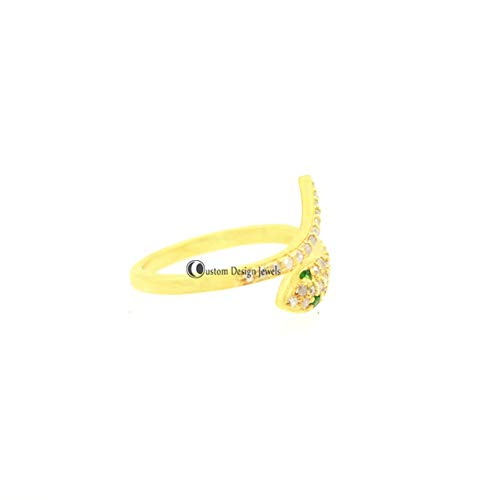 925 silver diamond ring 14k gold diamond ring snake diamond ring 14k rose gold ring 14k white gold snake ring