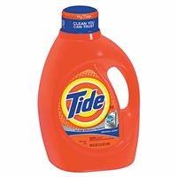 Procter & Gamble 608-08886 Tide HE Liquid Laundry Detergent, Original Scent, 64 Loads, 100 fl. oz. (Pack of 4)