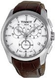Tissot Couturier Silver Chronograph Mens Watch