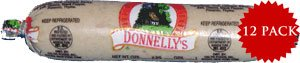 Pudding Sausage (Donnelly White Pudding (8oz) 12 Pack)