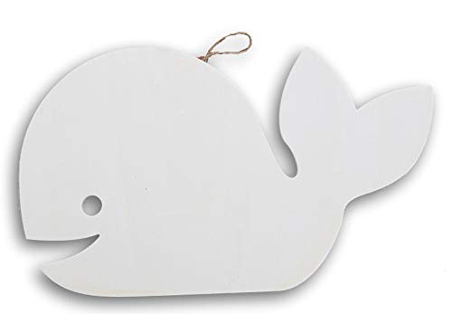 Whale Craft - Craft Supply Whale Shaped Wood Cutout