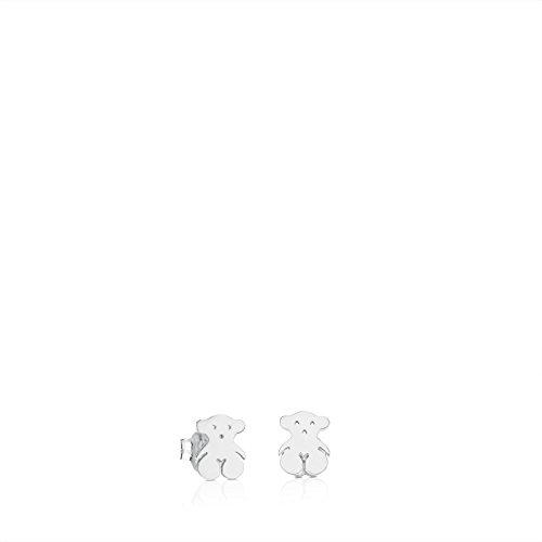 Spirit Bear Earrings - TOUS Bear 925 Silver Stud Earrings