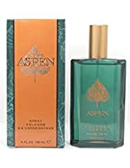 Launched by the design house of Coty in 1989, ASPEN is a men's fragrance that possesses a blend of outdoorsy scents including woods, citrus and spices. It is recommended for daytime wear.