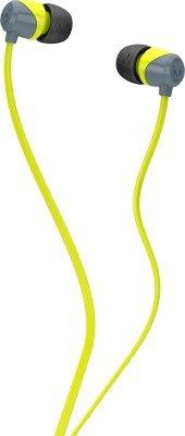 Skullcandy SCS2DUFZ-385 Jib In-Ear Headphone (Lime/Gray)