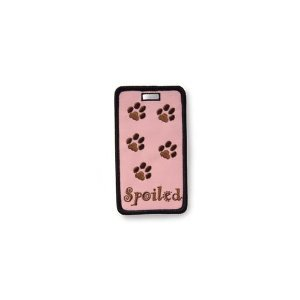 Alexx Not Just A Luggage Tag, Spoiled Pet Prints