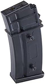 Cyma - Cargador para réplica de G36, para Airsoft, Negro, de Metal, Capacidad para 150 balines M009