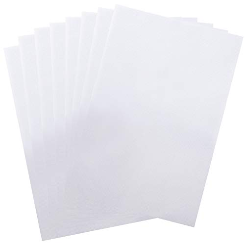 Classic Reserve Aida Cloth – 8-Piece Aida Cross Stitch Cloth, 12 x 18-Inch, 14 Count, White