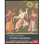 Bedford Anthology of World Literature 9780312417635