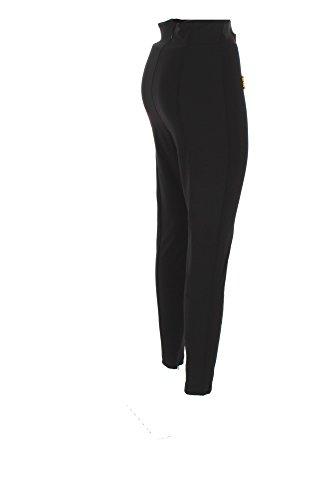 Pantalone Donna Elisabetta Franchi 42 Nero Pa01176e2 Autunno Inverno 2017/18