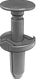 Chrysler # 6504521 by Popular Auto Parts - Package of 20 Chrysler Fascia Push-Type Retainer