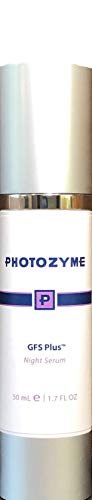DNA Repair Enzymes - Photozyme GFS Plus Night Serum with retinol skincare treatment for use at night to treat aging skin, fine lines and wrinkles