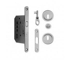 ZB Maniglie - Modelo Edge 31 OLV - Kit de cerradura para puertas correderas, con