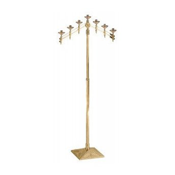 - Church Floor Candelabra with Adjustable Arms and Height