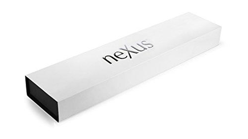 Nexus BD1N 6.5'' Nakiri Knife with Hollow Edge, 63 Rockwell Hardness, American Stainless Steel, G10 Handle - Japanese Vegetable Slicing Knife by Nexus (Image #8)