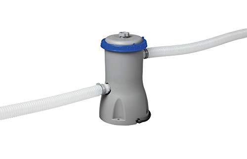 🥇 Bestway 58386 – Depuradora de Filtro Cartucho Tipo II 3.028 litros/hora Conexión 32 mm