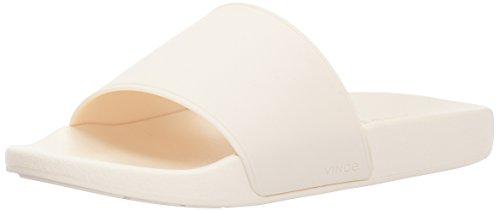 Vince Damen Westcoast Slide Sandale Sahne-Gummi