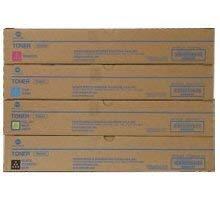 KONICA MINIOLTA TN-324 Laser Toner Cartridge Set Black Cyan Magenta Yellow from Konica-Minolta