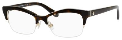 Kate Spade Rx Eyeglasses - Lyssa Havana / Frame only with demo lenses.