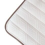 My Green Mattress Pure Echo Luxe with Lumbar Support Organic Cotton Natural...