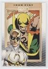 (Iron Fist (Trading Card) 2014 Rittenhouse Marvel 75th Anniversary - [Base] #41)
