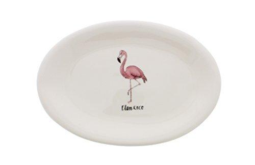 Rae Dunn by Magenta Flamenco (Flamingo) oval plate