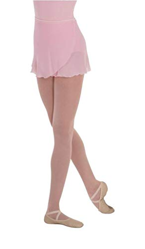 - Body Wrappers Angelo Luzio Adult Womens 12 inch Georgette Wrap Skirt-Light Pink-Medium/Large