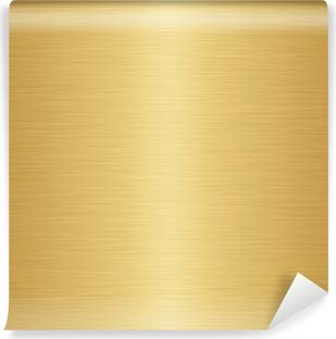 TeekayBrankds Permanent Self Adhesive Backed Vinyl Sheets - 12 x 12 inch, Easy to Weed and Works with Cricut and All Cutters - 10 x Metallic Gold Sheets
