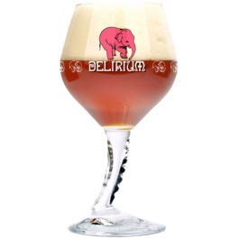 Delirium Tremens Signature Trunk Stemmed Chalice Glass - New for 2019