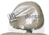 DEFEND- Headrest Covers 14 in x 9.5in 250 Box #BF-9500 [ 11 113637 Us Depot