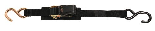 BoatBuckle Pro Series Ratchet Transom Tie-Downs, 2-Pack, 1-Inch x 3.5-Feet