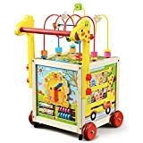 london-kate Deluxe Activity Cube Walker with Bead Maze