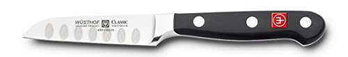 Wusthof Straight Paring Knife 3-in, Hollow Edge