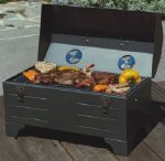 Keg-A-Que Toolbox Pro Series Charcoal Grill