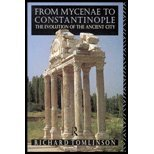 From Mycenae to Constantinople : The Evolution of the Ancient City, Tomlinson, Richard A., 0415059976