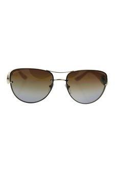 a54bf83d10eb5 Amazon.com   Bvlgari Bv6053bm 278 t5 - Gold brown Polarized Sunglasses For  Women   Beauty