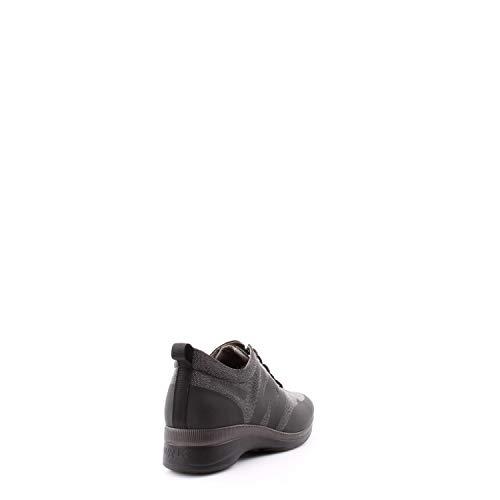 Donna R0252 Antracite Nero Sneaker Walk Techno Ai15 Melluso pqC6wp