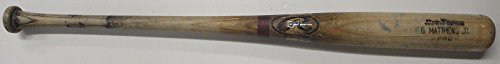 Gary Matthews Jr UnSigned GAME USED Baseball Bat Shows Wear San Diego Padres - MLB Game Used Bats (Mlb Unsigned Bats)
