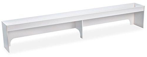 TrippNT 50216 PVC Fume Hood Shelf, 48