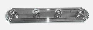 Whitfield Lighting VR24CH Victor - Four Light Bath Bar, Chrome ()