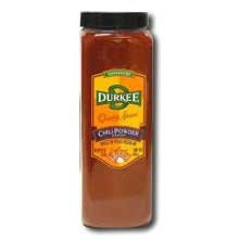Durkee Medium Chili Powder - 16 oz. container, 6 per case