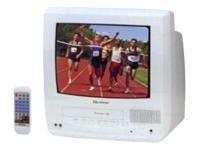 "Quasar VV-1310W 13"" Television TV/VCR Combo White"