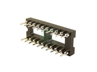 IC Socket, 20 PIN, MACHINED Contacts, Pack of 20 (AR20-HZL-TT)