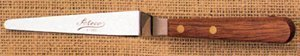 Ateco Palette Knife - Tapered - SS/Wood - 5