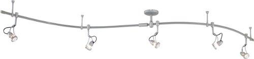 - George Kovacs P4116-609, 5 Light Line Voltage Kit, Silver